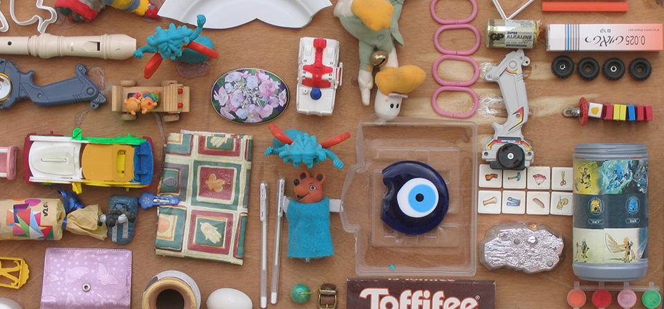 חפצים בגלרית הספריה